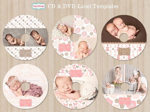 CD Label Template – 20+ Free PSD, EPS, AI, Illustrator Format ...