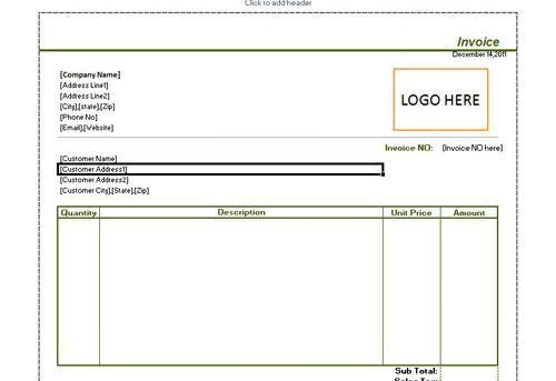 simple invoice Archives ⋆ Invoice Template