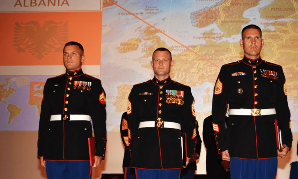 Marine Security Guard Honor Graduates Join the 'Tip of the Spear ...