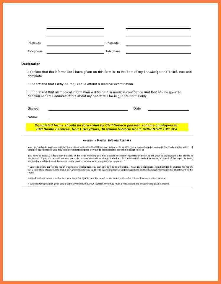 Medical Consent Forms. Medical Authorization Form Template Sample ...
