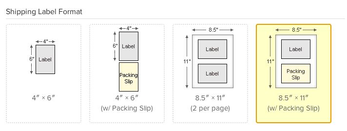How can I control label position for integrated labels? – ShipStation