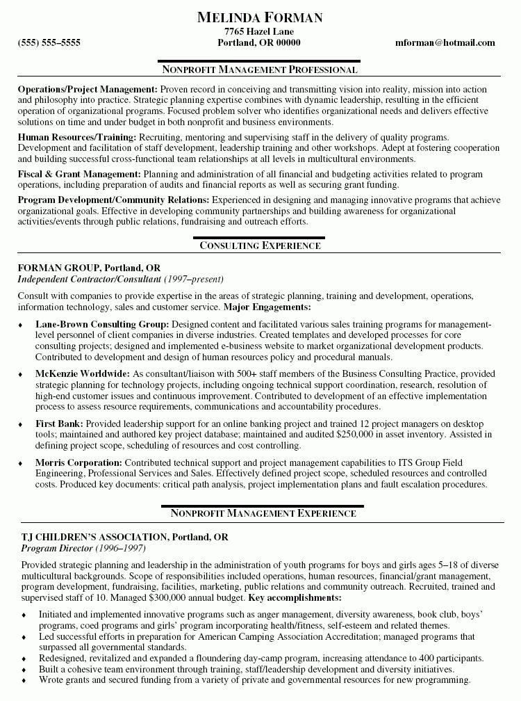 it consultant resume samples