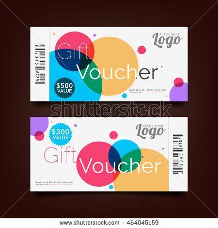 Gift Voucher Template Market Special Offer Stock Vector 380412703 ...