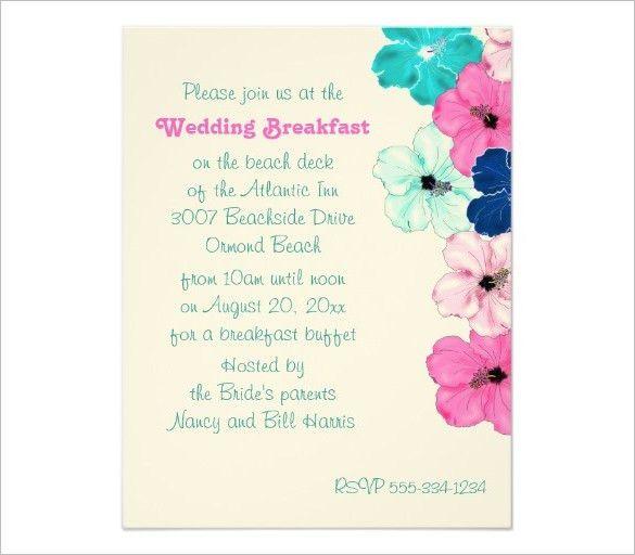 10+ Wonderful Breakfast Invitation Templates | Free & Premium ...