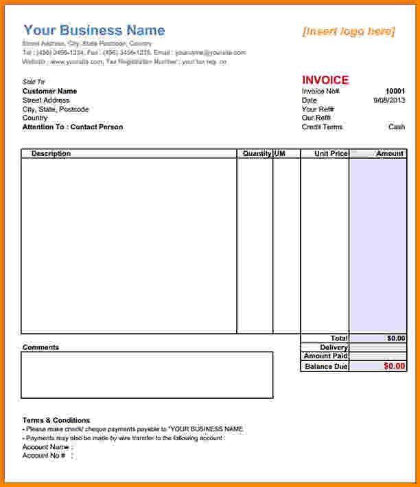 9+ sample invoice receipt   Short paid invoice