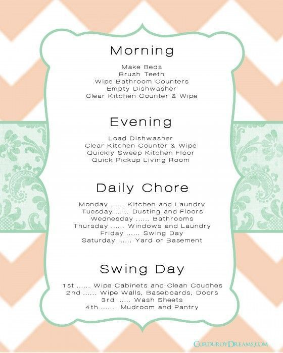 Best 25+ House cleaning schedules ideas on Pinterest | House ...