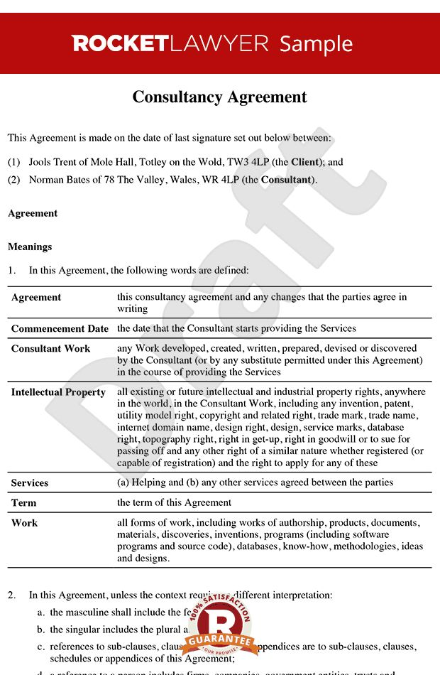 Agreement Template - Contractor Agreement