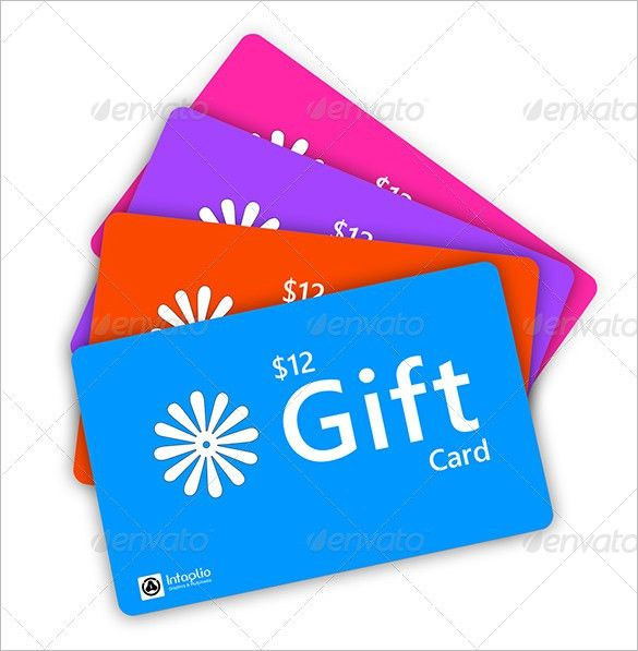 Gift Card Template – 13+ Free Printable Word, PDF, PSD, EPS Format ...