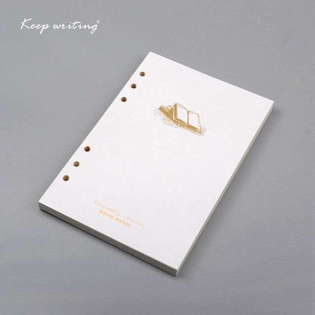 A5 filler paper for Organizer Notebooks 6 Holes lined papers line ...