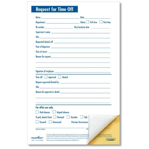 Vacation Request Form. Employee Vacation Request Form | Accepting ...