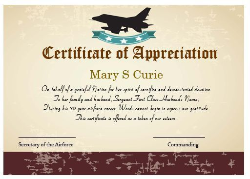 50+ Professional Free Certificate of Appreciation Templates For ...