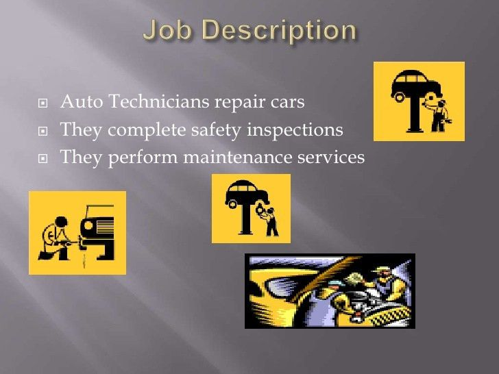 Download Auto Technician Job Description | haadyaooverbayresort.com