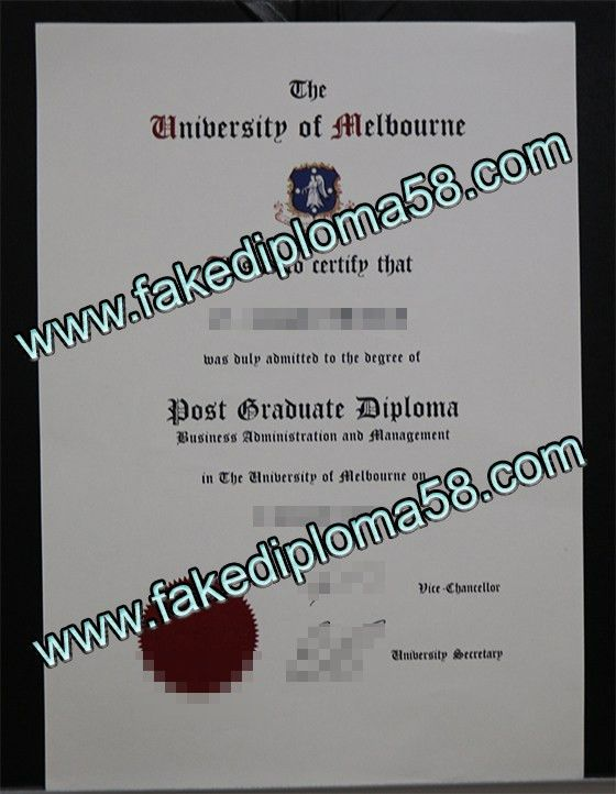 The University of Melbourne degree for sale online _fakediploma58