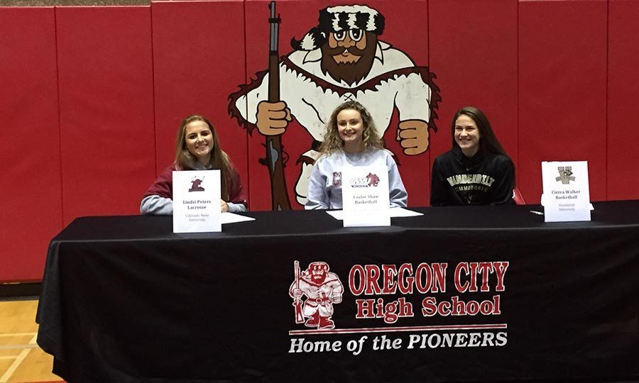 National Letter Intent Signing - Fall 2015 | High School