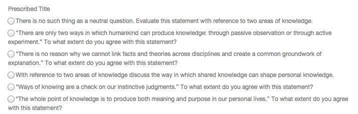 Uncategorized | LJA Theory of Knowledge 2015