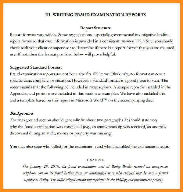 Best Template Report Writing Pictures - Best Resume Examples for ...