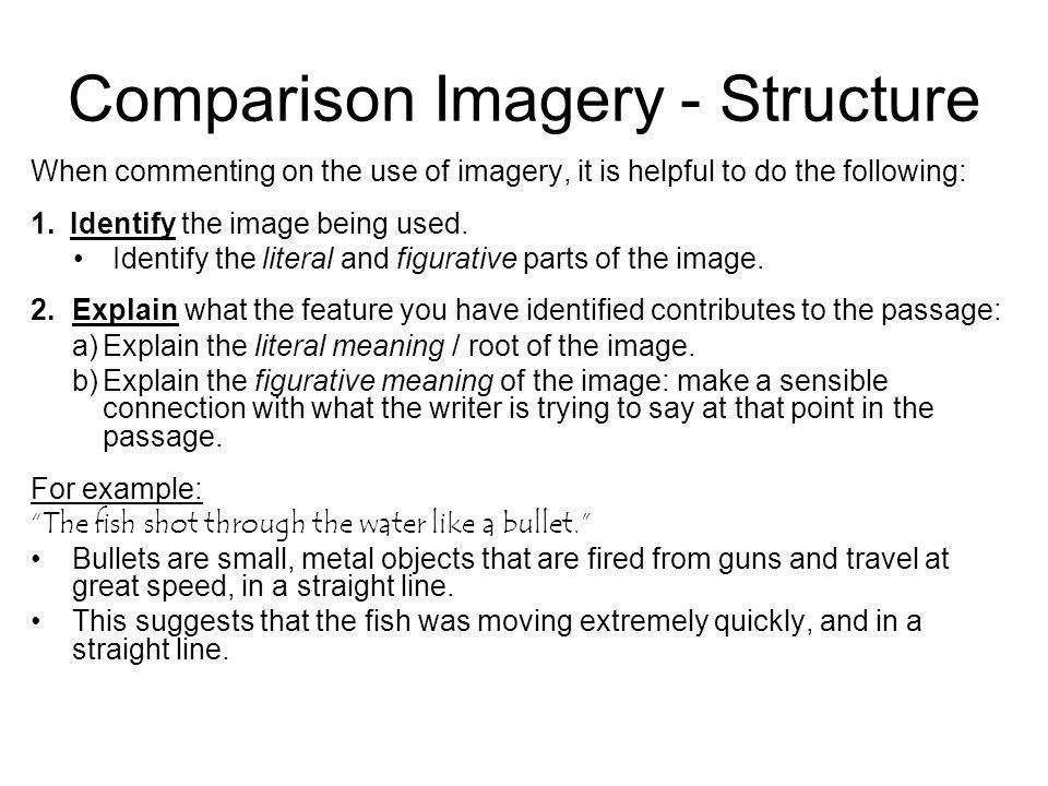 Language Skills Analysis Questions: Imagery. Questions about ...