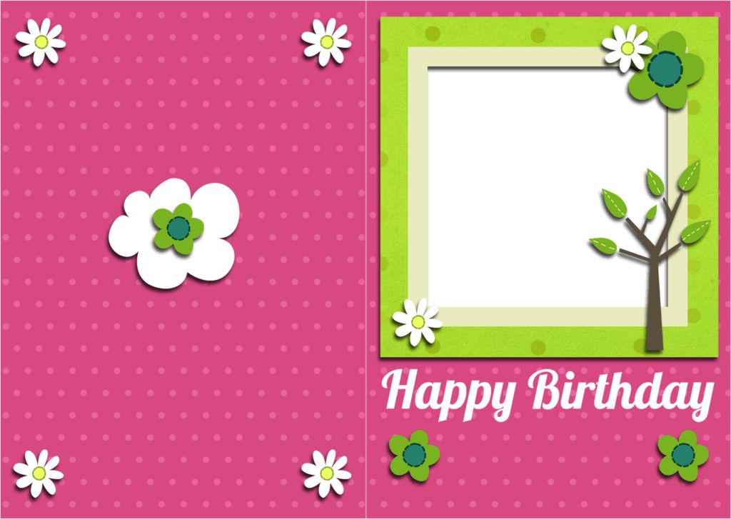Happy Birthday Card Template – gangcraft.net