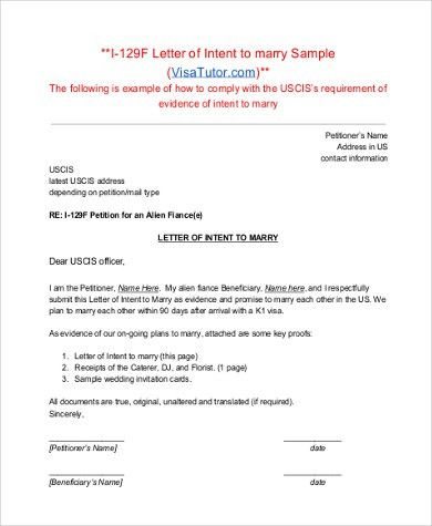 Sample Letter of Intent Format - 9+ Free Documents in PDF, Doc