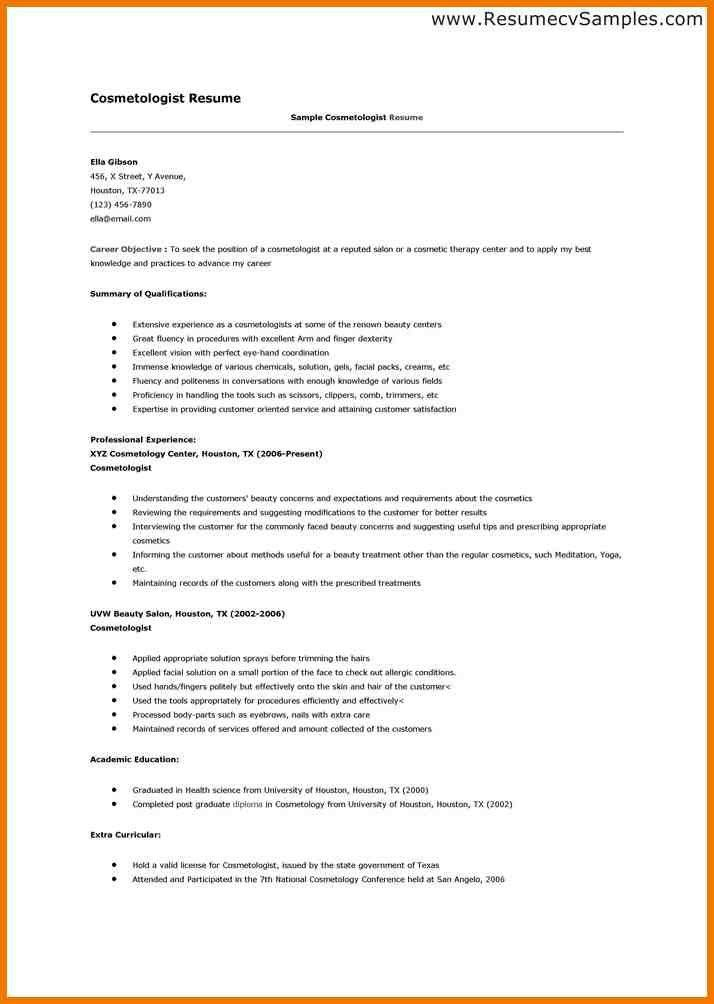 fun cosmetologist resume 3 cosmetology resume templates resume ...