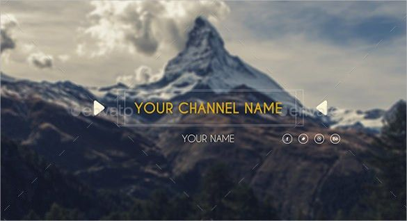 20+ Simple Youtube Banner Templates – Free Sample, Example, Format ...