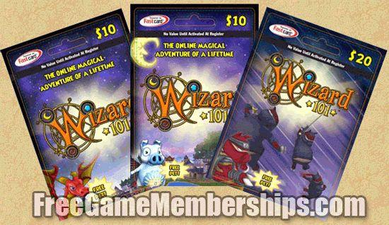 Free Wizard 101 Membership Cards in 2017 - Earn Unlock Codes ...