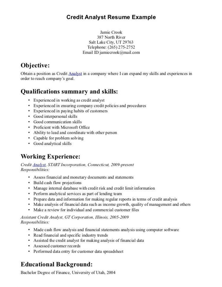 Computer Systems Analyst Resume Market Analyst Resume Sample ...