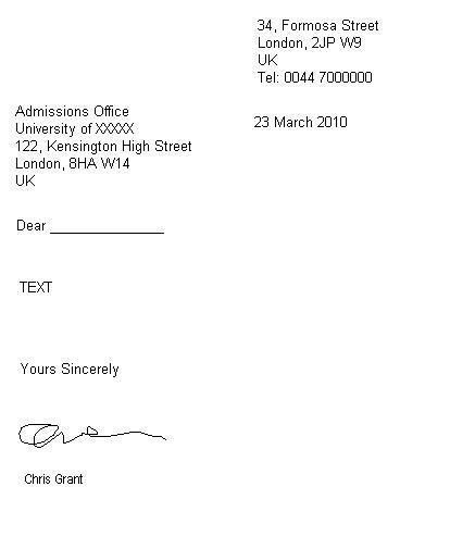 How to Write a Semi-Formal Letter « Get Ready for IELTS
