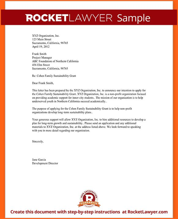 7+ Letter Of Intent Template - Budget Template Letter