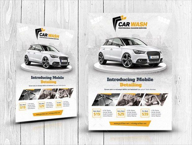 21+ Car Wash Flyer Designs, PSD Download | Design Trends - Premium ...