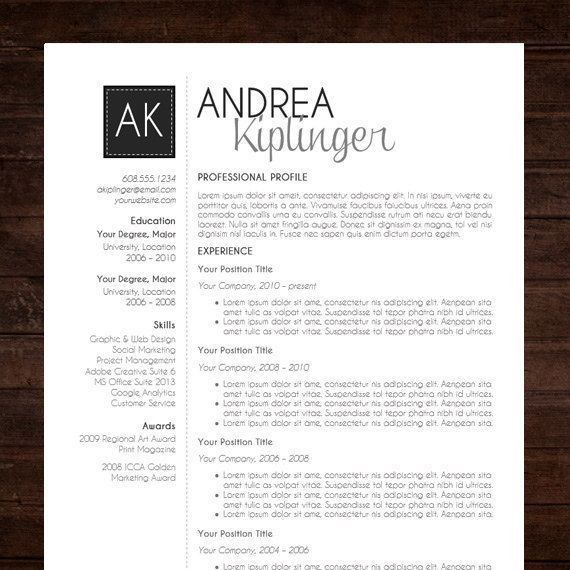 25 best @ JOBS Resume Templates images on Pinterest | Cv template ...
