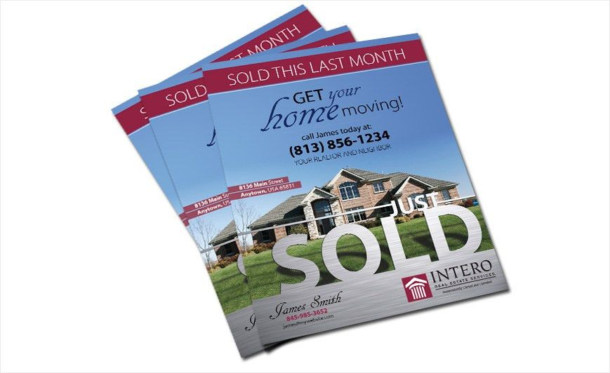 Intero Real Estate Flyers | Intero Real Estate Flyer Templates