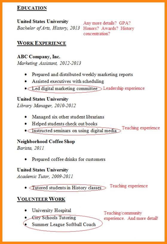 7+ how to make a resume for first job | model resumed
