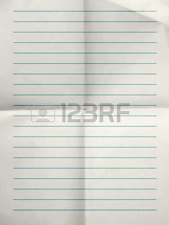 College Ruled Notebook Paper Stock Photos. Royalty Free College ...