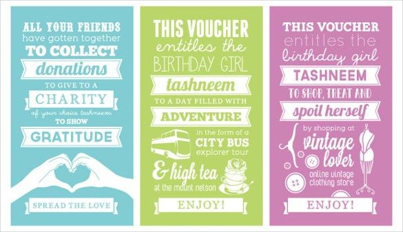 Birthday Voucher Template – 12+ Free PSD, EPS Format Download ...