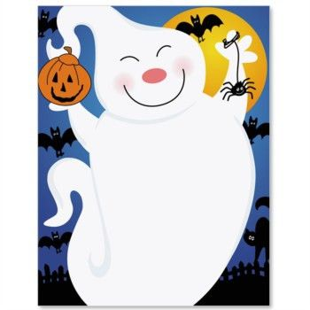 Free Printable Halloween Border Paper – Festival Collections