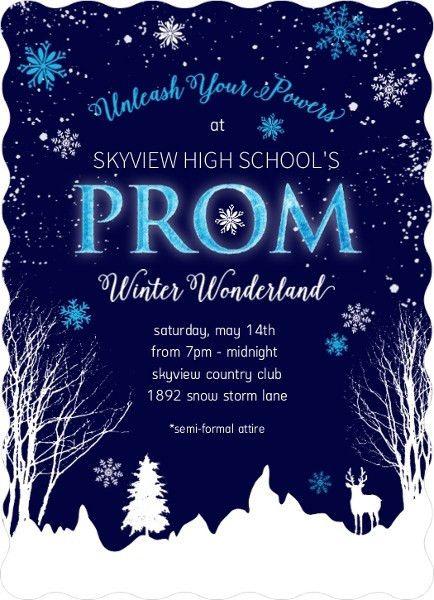 Prom Invitations & Prom Invites