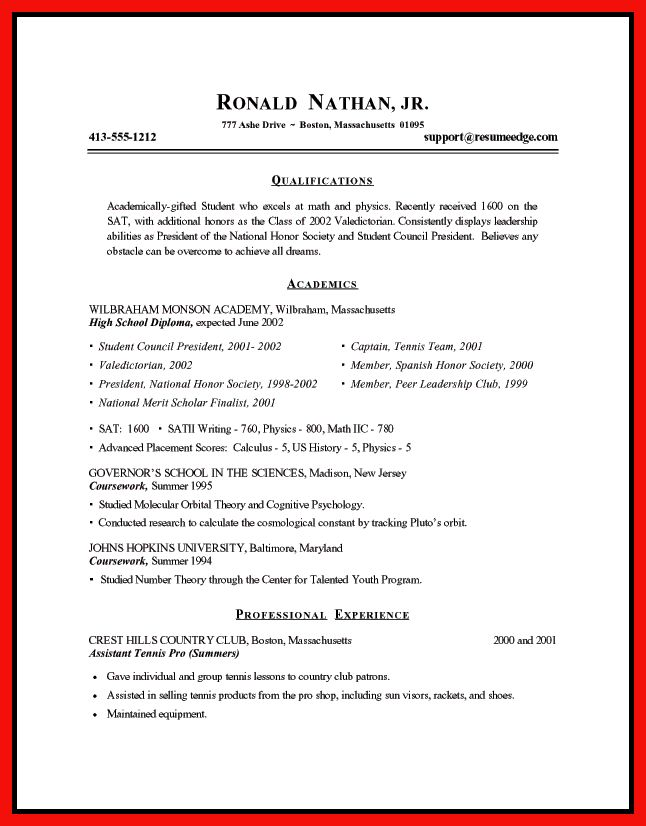 drafting resume examples | apa example