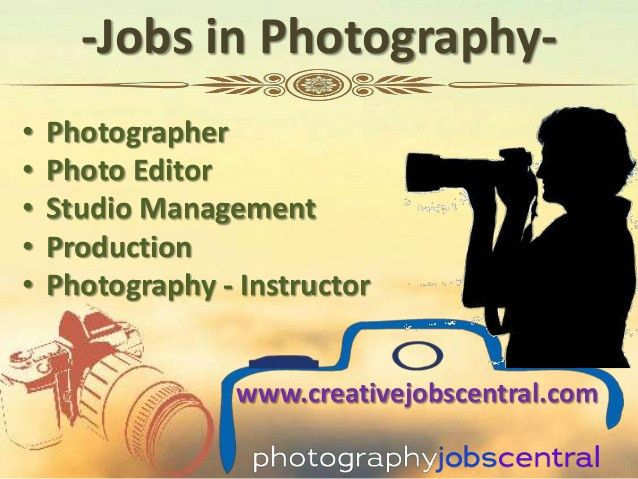 Photography Jobs & Employment