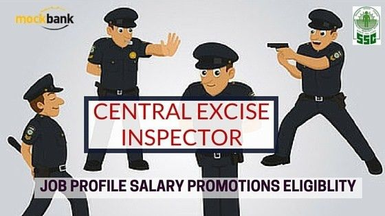 ☆ What Is Excise Inspector Job in SSC? What Does He Do?  - Quora