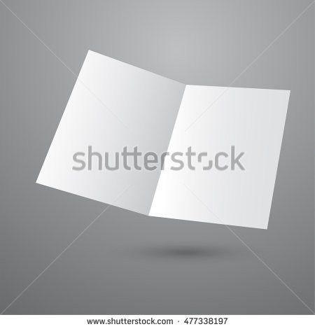Blank Brochure Template Vector Illustration Stock Vector 644457358 ...