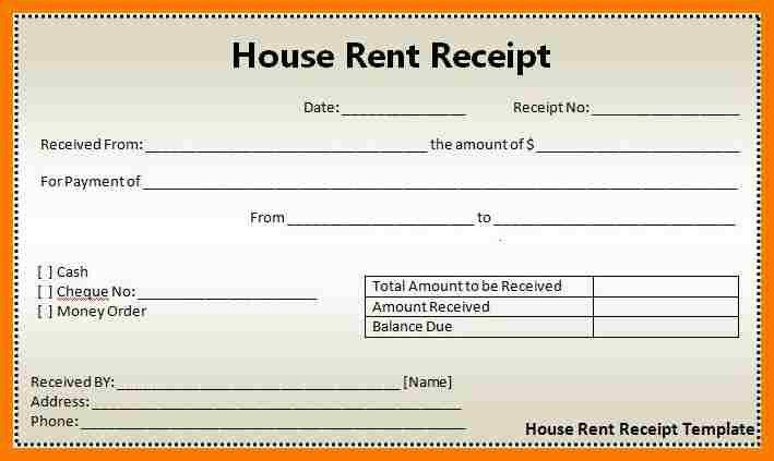 12+ rent receipt format in excel | park-attendant