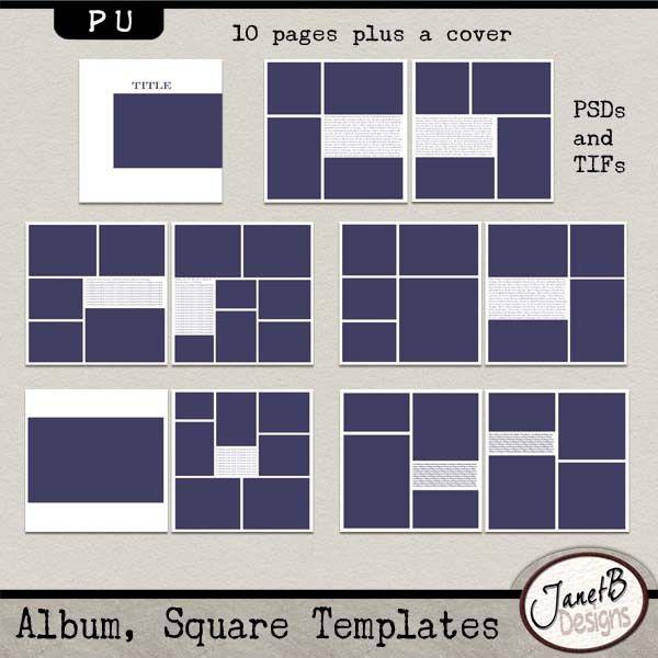Album Template. album square templates pu album square templates ...