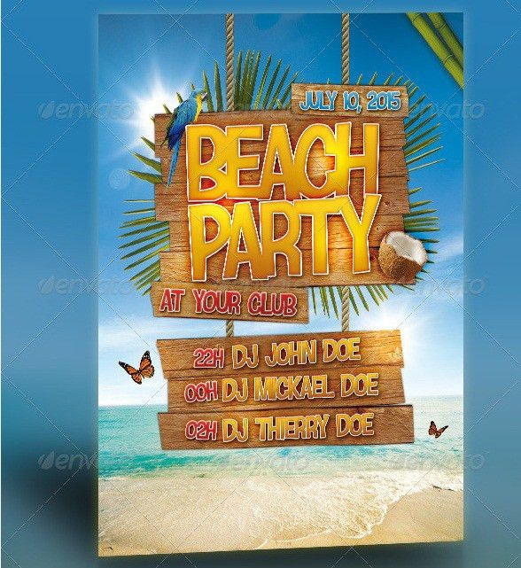 55+ Club & Party Event Flyer Templates - Tutorial Zone
