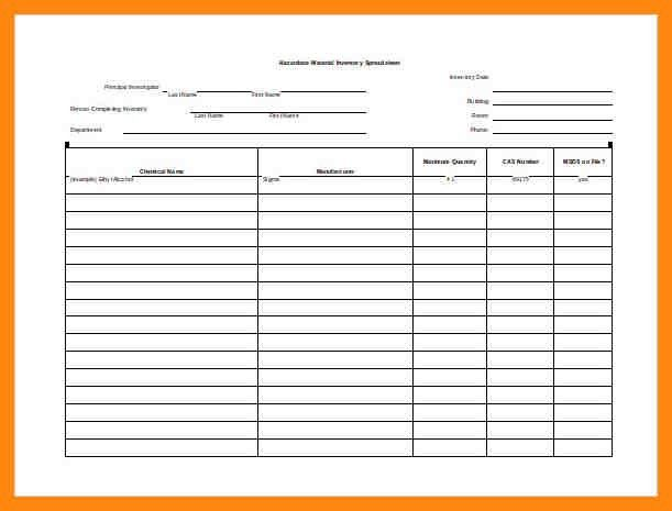 Blank Preadsheet. Blank Monthly Spreadsheet Daily Expenses Sheet ...