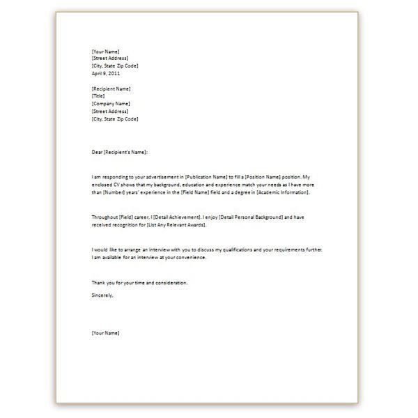 Amazing Sample Basic Cover Letter 75 About Remodel Download Cover ...
