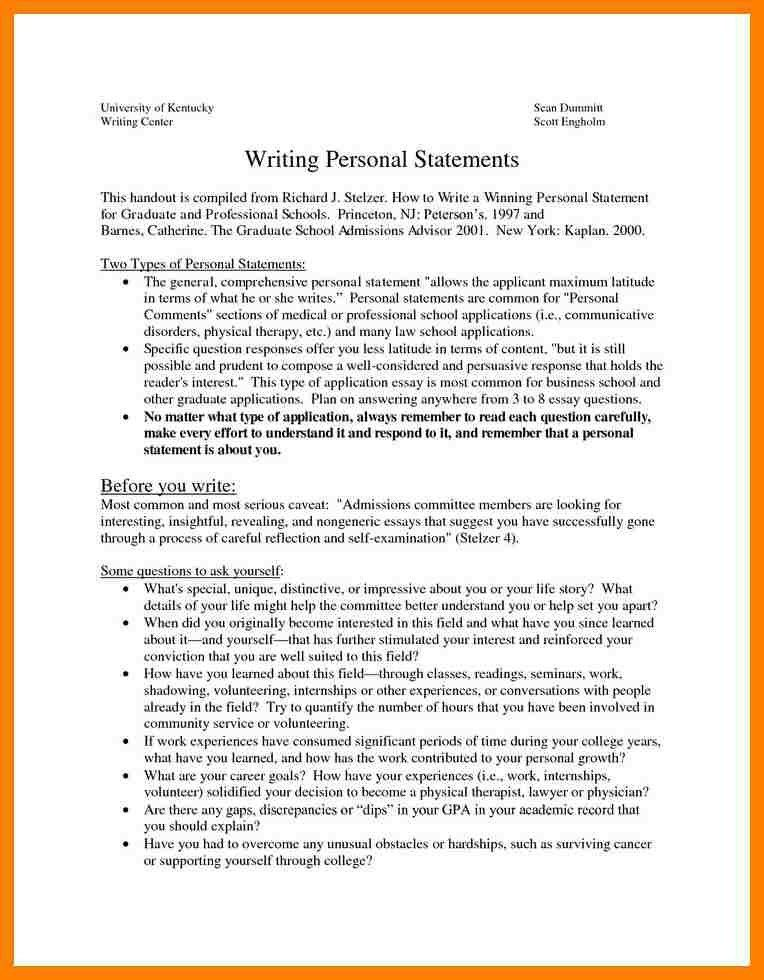 11+ personal goal statement examples | packaging clerks