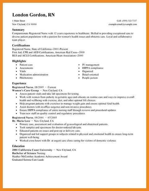 rn resume examples | art resume examples