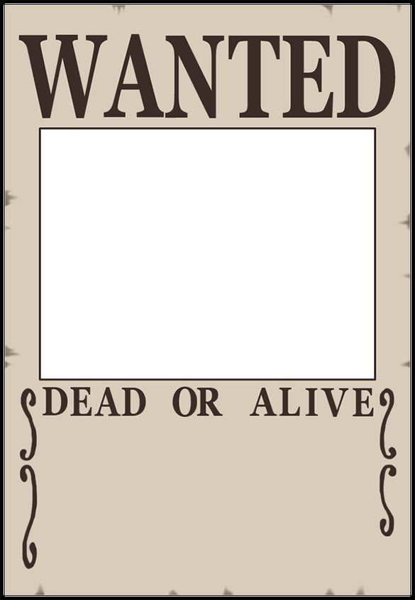 15+ Blank Wanted Poster Templates – Free Printable, Sample ...