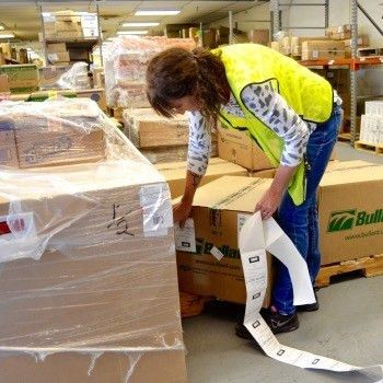 RF Scanning for Contract Warehousing Applications